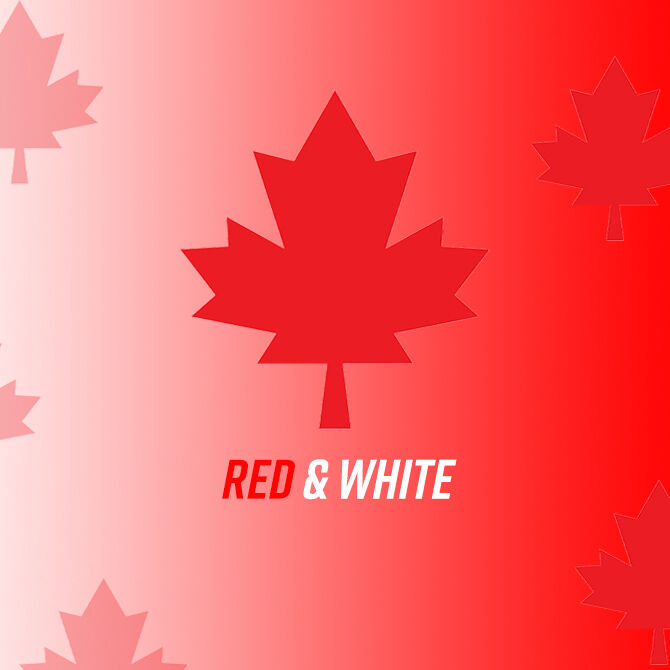 Canada Day - Red and White Capsule